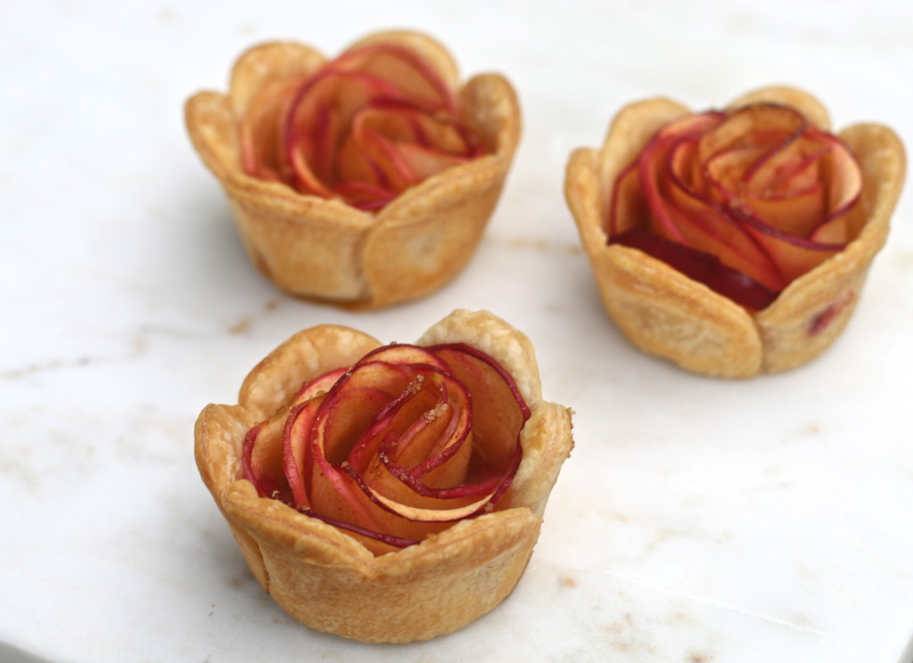 Apple Rosettes Food Living Recipes Uncatagorized