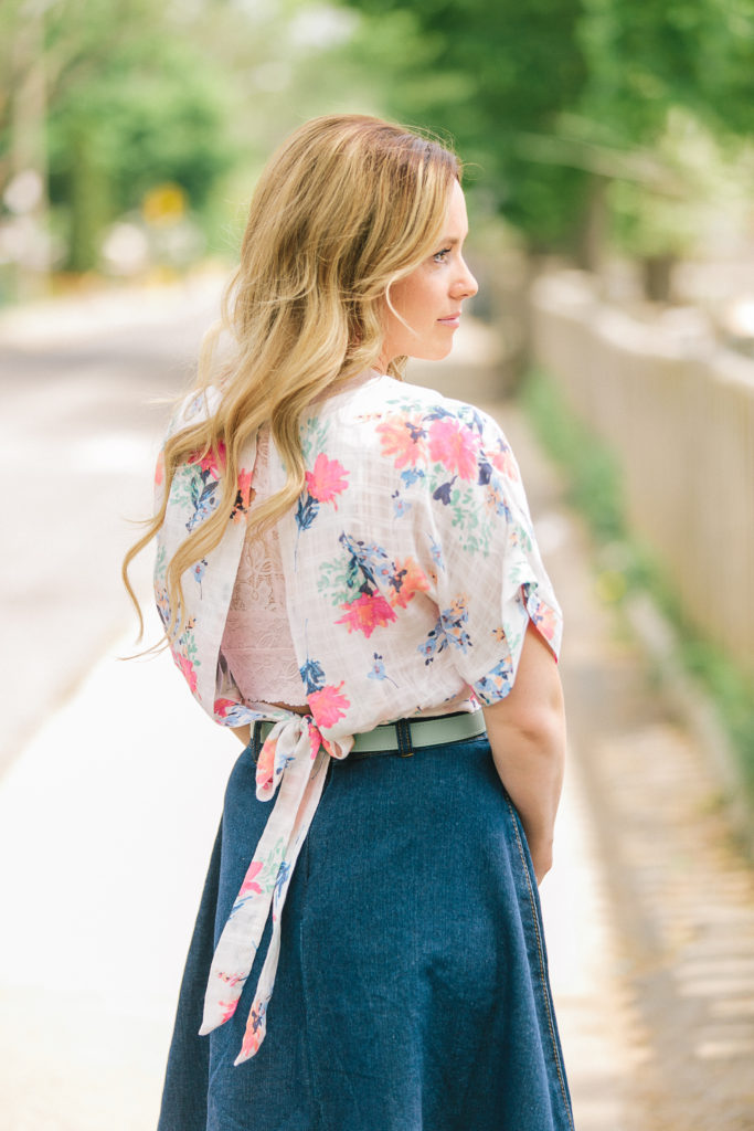Feeling Floral Beauty Hair with Emylea Style
