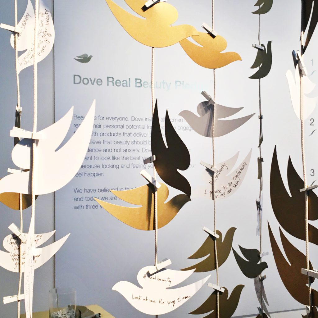 Real Beauty with DOVE in NYC Beauty Living Style Travel Uncatagorized
