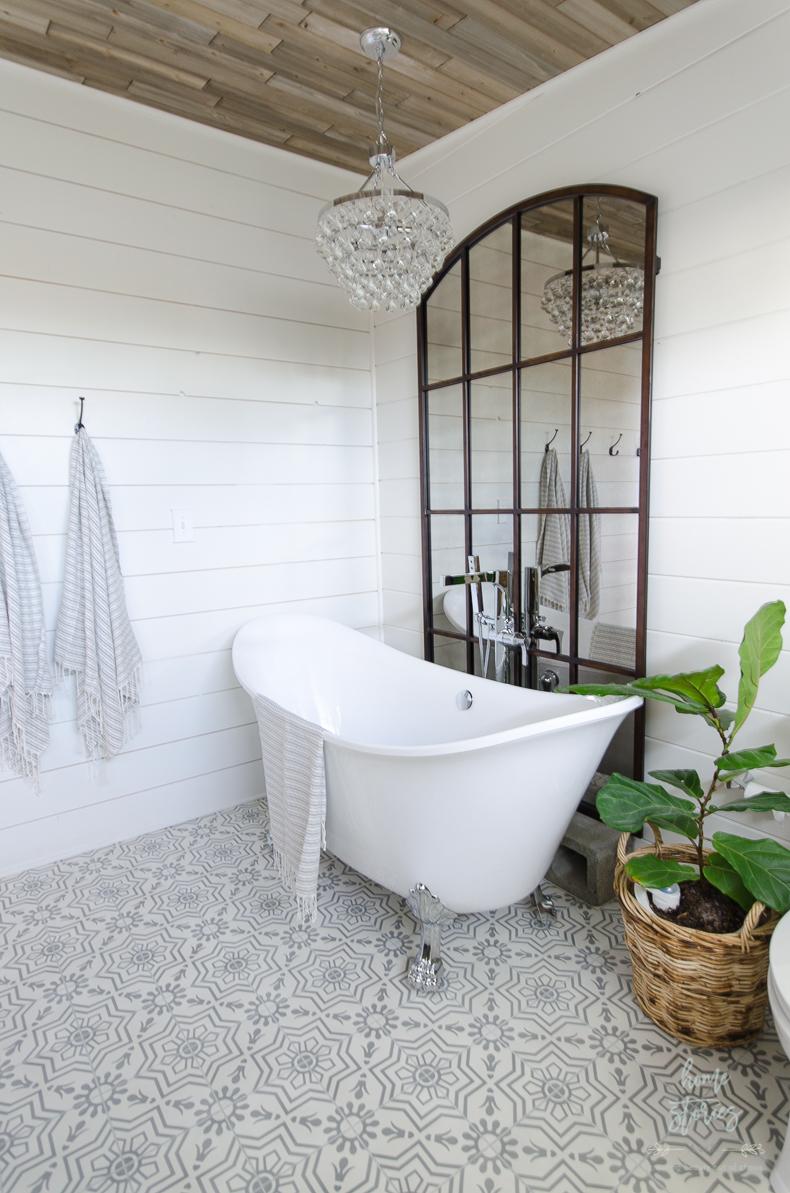 wayfair bathroom inspo bonjour bliss