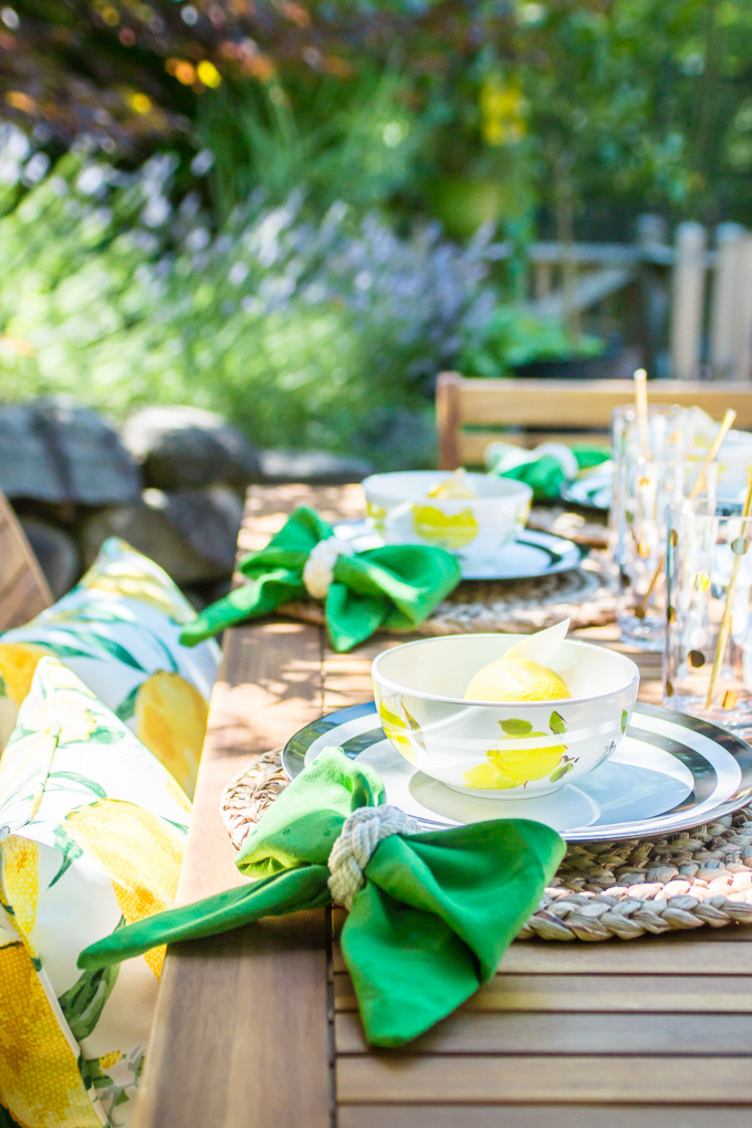 Outdoor Dining with Bed Bath & Beyond Decor DIY Living Uncatagorized