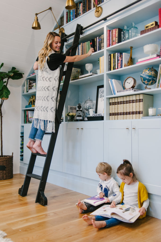 Our DIY Library Wall with Home Depot Decor Lifestyle Renos & DIY Uncatagorized