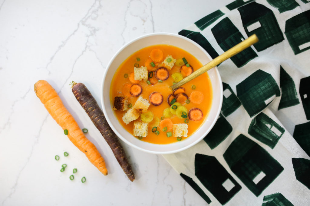 Cozy Carrot Potato Soup Recipe Family Food Living Recipes Self Care & Fitness