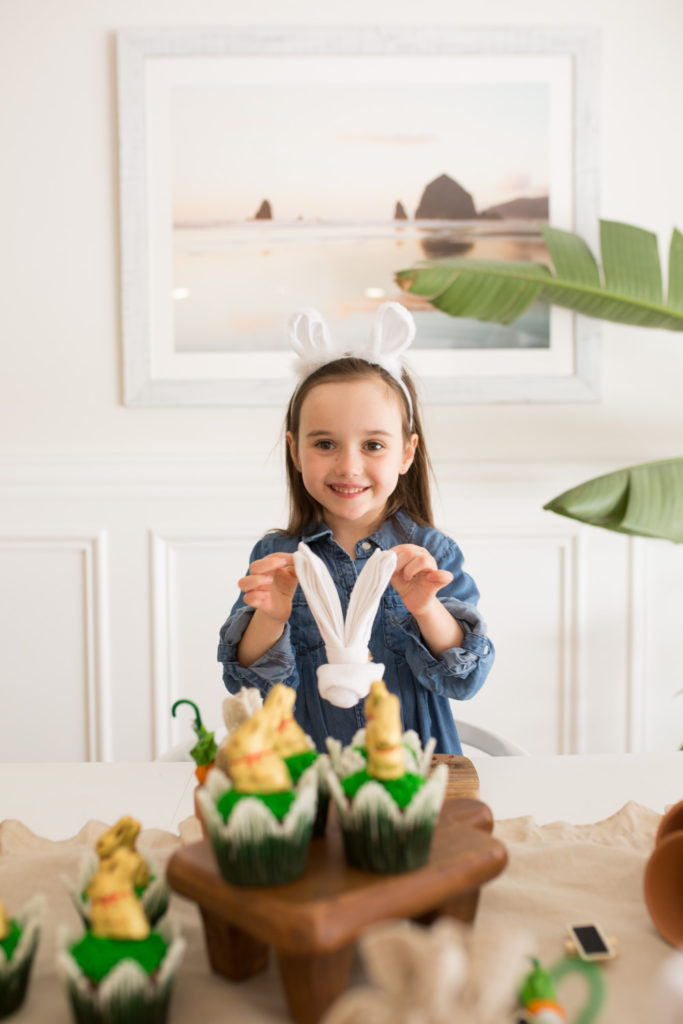 Easter with the Lindt Chocolate Bunny Decor DIY Entertaining Family Food Living Recipes