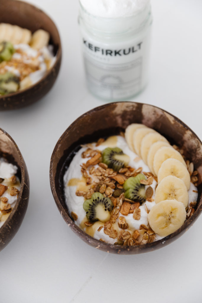 Dairy-Free Coconut Kefir Bowl Food Recipes Self Care & Fitness