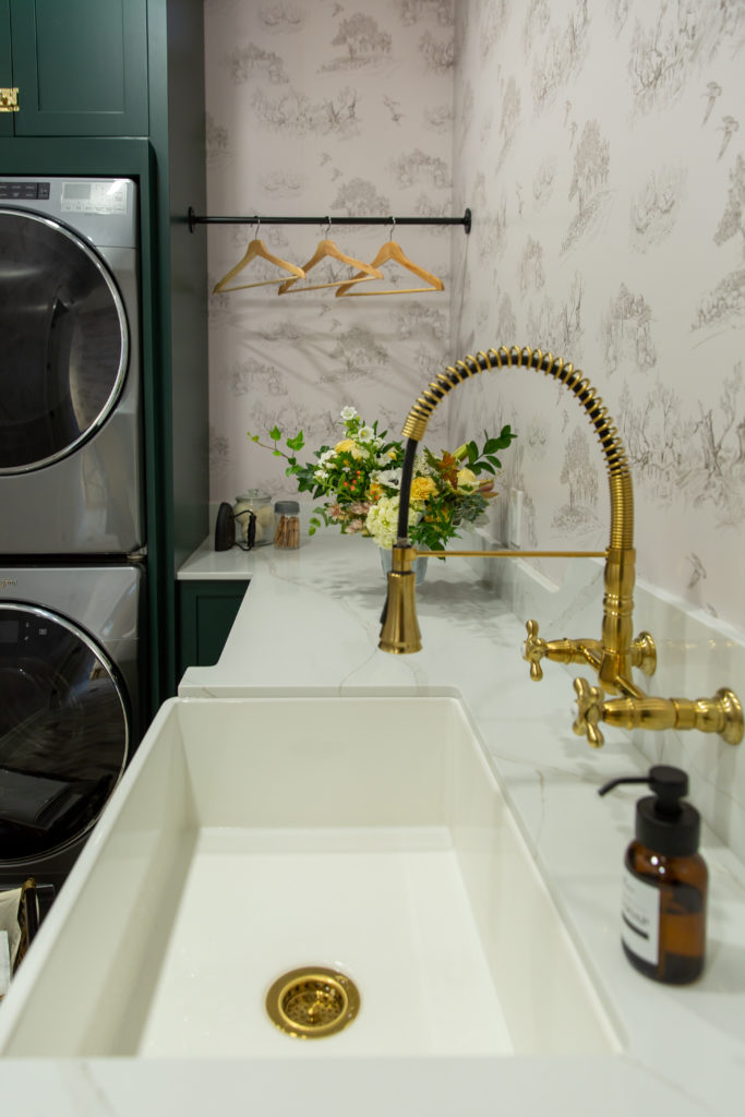 Laundry Room Progress Reveal | Our House in the Pines Home Home Tours Uncatagorized