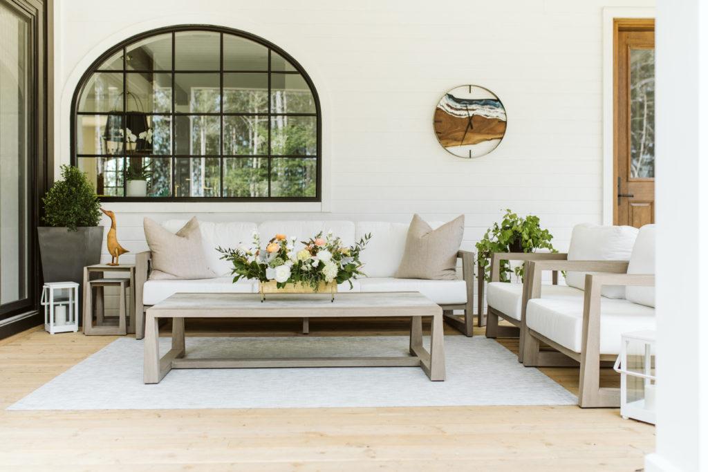Back Patio Reveal Decor Home Home Tours Uncatagorized